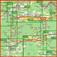 Shocart Maps Wandelkaart 1094 Nizke Tatry Chopok