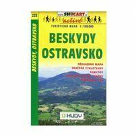 Shocart Maps Wandelkaart 223 Beskydy Ostravasko
