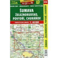Shocart Maps Wandelkaart 434 Sumava - Zeleznorudsko