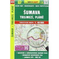 Shocart Maps Wandelkaart 435 Sumava - Trojmezi Plane