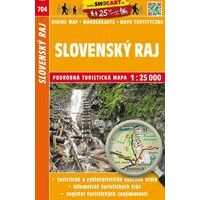 Shocart Maps Wandelkaart 704 Slovensky Raj - Slowaaks Paradijs