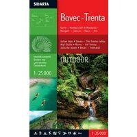 Sidarta Wandelkaart Bovec - Trenta 1:25.000