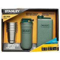 Stanley Adventure Steel Shot Glass Set + Flask Shotglaasjes