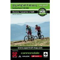Supertrail Maps Supertrail MTB-kaart Ascona - Locarno E Valli
