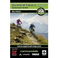 Supertrail Maps Supertrail MTB-kaart Bas-Valais Niederwallis