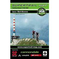 Supertrail Maps Supertrail MTB-kaart Jura - Biel-Bienne