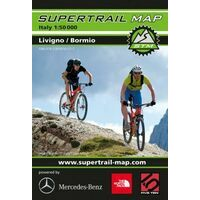 Supertrail Maps Supertrail MTB-kaart Livigno - Bormio