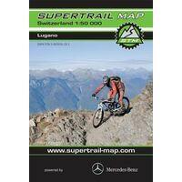Supertrail Maps Supertrail MTB-kaart Lugano