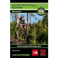 Supertrail Maps Supertrail MTB-kaart Maremma