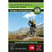 Supertrail Maps Supertrail MTB-kaart Martigny -Grand Saint Bernard