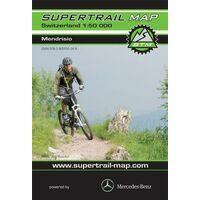 Supertrail Maps Supertrail MTB-kaart Mendrisio