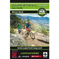 Supertrail Maps Supertrail MTB-kaart Meran Noord Merano