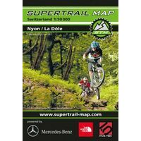 Supertrail Maps Supertrail MTB-kaart Nyon - La Dôle