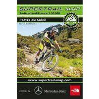 Supertrail Maps Supertrail MTB-kaart Portes Du Soleil