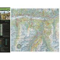 Supertrail Maps Supertrail MTB-kaart Unterengadin - Samnaun