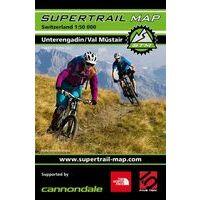Supertrail Maps Supertrail MTB-kaart Unterengadin - Val Müstair