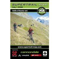 Supertrail Maps Supertrail MTB-kaart Val D'Aosta Oost