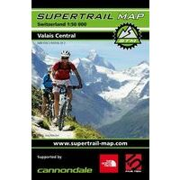 Supertrail Maps Supertrail MTB-kaart Valais Centraal Wallis