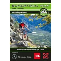 Supertrail Maps Supertrail MTB-kaart Vinschgau Oost Val Venosta