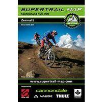 Supertrail Maps Supertrail MTB-kaart Zermatt