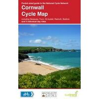 Sustrans Maps Cycle Map 01 Cornwall