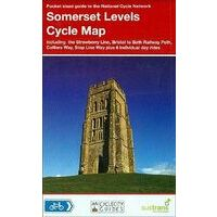 Sustrans Maps Cycle Map 04 Somerset Levels