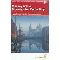 Sustrans Maps Cycle Map 25 Merseyside Manchester
