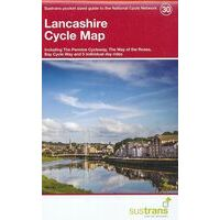 Sustrans Maps Cycle Map 30 Lancashire
