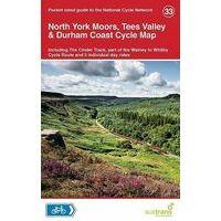 Sustrans Maps Cycle Map 33 North York Moors