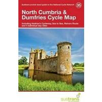 Sustrans Maps Cycle Map 35 North Cumbria & Dumfries