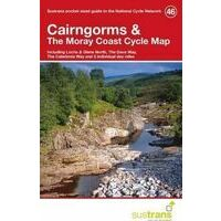 Sustrans Maps Cycle Map 46 Cairngorms & The Moray Coast