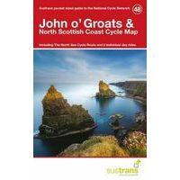 Sustrans Maps Cycle Map 48 John O'Groats & North Scottish Coast