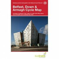 Sustrans Maps Cycle Map 49 Belfast, Down & Armagh