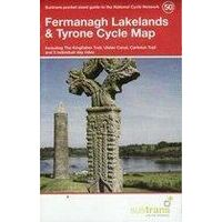 Sustrans Maps Cycle Map 50 Fermanagh Lakelands & Tyrone