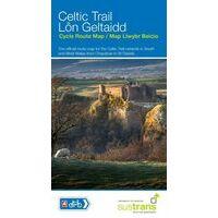 Sustrans Maps Fietskaart Celtic Trail Cycle Route Map