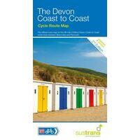 Sustrans Maps Fietskaart Devon Coast To Coast