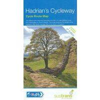 Sustrans Maps Fietskaart Hadrian's Cycleway