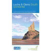 Sustrans Maps Fietskaart Loch & Glens South