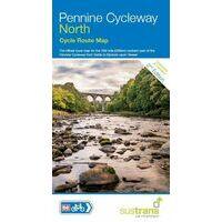 Sustrans Maps Fietskaart Pennine Cycleway North