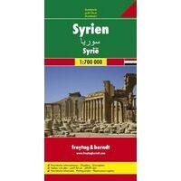 Freytag En Berndt Wegenkaart Syrië