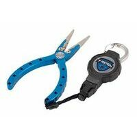 T-Reign Fishing Pliers met retractable Gear Tether
