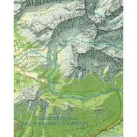 Tabacco Topografische Wandelkaart 029 Schlern Rosengarten