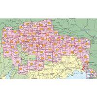 Tabacco Topografische Wandelkaart 041 Valli Del Natisone