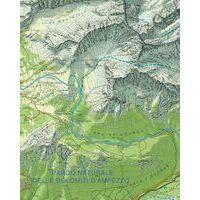 Tabacco Topografische Wandelkaart 046 Lana Val D'Adige 1:25.000