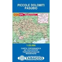 Tabacco Topografische Wandelkaart 056 Piccole Dolomiti Pasubio 1:25.000