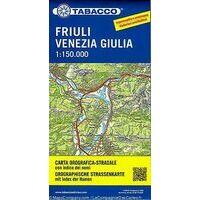Tabacco Wegenkaart Friuli Venezia Giulia