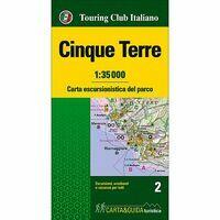 TCI Wandelkaart & Gids Cinque Terre 1:35.000