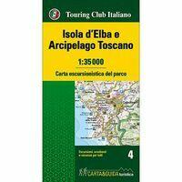 TCI Wandelkaart Isola D'Elba & Arcipelago Toscano