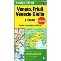 TCI Wegenkaart 4 Veneto, Friuli En Venezia Giulia