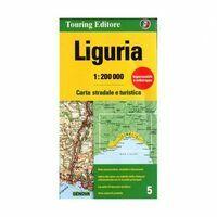 TCI Wegenkaart 5 Ligurië Liguria Cinque Terre